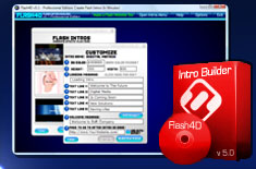 Easily Create Flash Intros with Flash4D - Flash Intro Builder Software